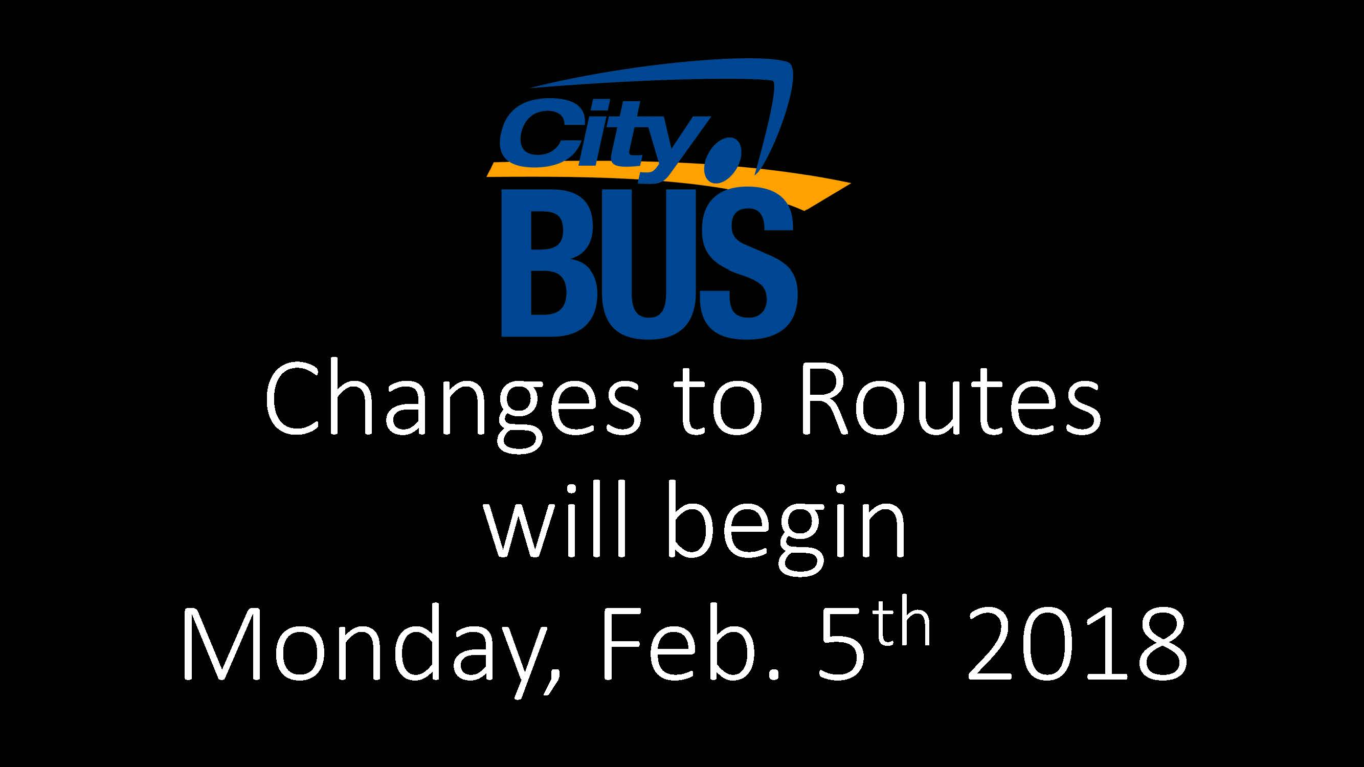 City Bus Feb 5